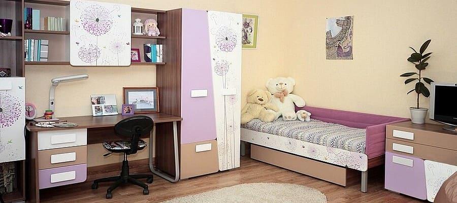 Удобная и стильная детская мебель